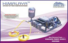 triple cyclinder car washing pump