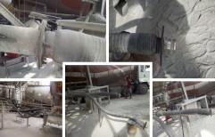 Upto 15 Mtrs Bulker Unloading Rubber Hose - From Bulker Truck Capsule To Silo, 15 Bar