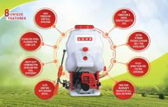 Usha Brass 2 Stroke Battery Sprayer