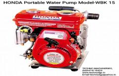 WBK-15 Honda Portable Water Pump