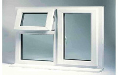 White Modern UPVC Casement Window, Size/Dimension: 3x2 Feet, Glass Thickness: 5 Mm