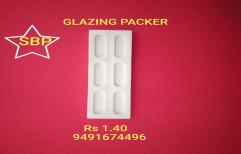 White Pp UPVC Window Accessories Glazing Packer