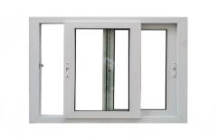 White UPVC Sliding Door