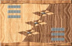 Wood Hinged Decorative Lamination Door, Brown