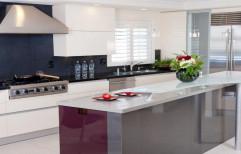 Wooden Modern Kitchen, Warranty: 1-5 Years