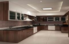 Wooden Modular Kitchen, Warranty: 5-10 Years