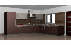 Wooden Residential Modular Kitchen
