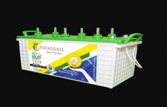 12 V Patanjali PTB7500NT Solar Tall Tubular Battery, Capacity: 75Ah