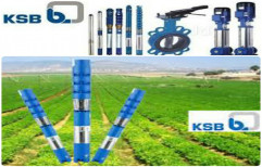 15 to 50 m Three Phase KSB Submersible Pump, For Available From 0.5 Hp To 15 Hp, COPPER