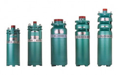 2000-6000 RPM Submersible Motor, Power: 10-100 KW
