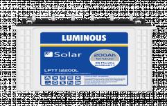 24 V Luminous Solar Tall Tubular Battery, 200 Ah