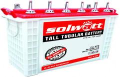5 Year (60 Months warranty) Solwatt Tubular Battery C10 100AH, 12 , for Solar
