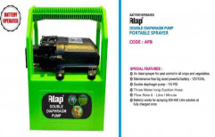 ALAP Double Diaphragm Portable Sprayer Pump, For Agriculture, Model Name/Number: Apb