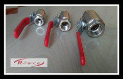 ALOK Stainless Steel Ball Valve, For Water