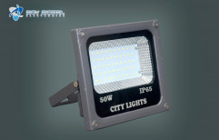 Aluminum Pure White 50w LED Flood Light -City Light, For Outdoor, IP Rating: IP65