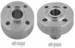 AM Silver Black Flanges, Size: 0-1 Inch, 1-5 Inch