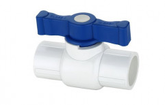 App White Upvc Ball Valve, Packaging Type: Box