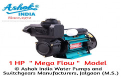 Ashok India Electric Mega Flow 1 HP Self Priming Pumps