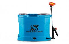 Blue Plastic Battery Spray Pump, Capacity: 16 liters, Model Name/Number: Seanleader