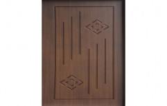 Wood Durian Deco Door, Thickness: 30 Mm