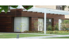 Brown Wooden Cladding, Thickness: Upto 20 mm