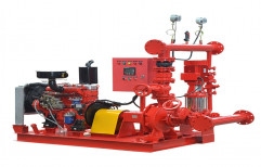 Cast Iron Red Fire Fighting Package Set