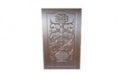 Dark Brown 3D Moulded Panel Door, Size/Dimension: 7 x 3 feet