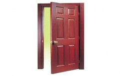 Designer Red Sal Door