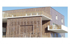 Exterior WPC Wall Cladding, 10-15 Mm