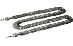 Finned Tubular Heater, 220 V