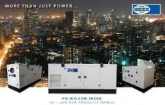 For Commercial & Industrial Three Phase 250 KVA CATERPILLAR-FG WILSON SILENT DIESEL GENERATORS