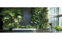 Green PVC Fancy Vertical Garden, For Decoration