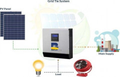 Grid Tie Connected Solar Kit, For Residential