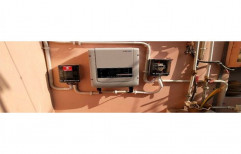 Grid Tied Mild Steel Solar Inverter, Capacity: 1-10 kW