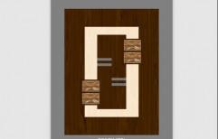 Hard Plywood Fiber Coating Lamination Door, For Villas, Size/Dimension: 32 X 80 Inch
