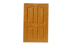 Hinged Brown Exterior FRP Panel Door, For Home