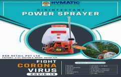 Hymatic Brass Power sprayer for sanitizer
