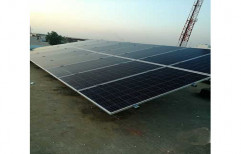 Industrial Rooftop Grid Tie Solar Power System, Operating Voltage: 24 V