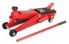 Iron Heavy Vehicle Hydraulic Jack, Hydraulic Lift: Semi Automatic, Capacity: 1-10 Ton