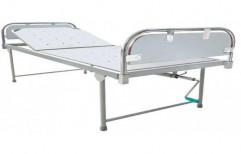 Manual Semi Flower Hospital Bed, Mild Steel, Size/Dimension: 2000 X 900 X 500 Mm