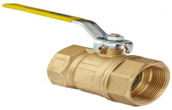 "Mild Steel High Pressure Brass Ball Valves, Place Of Origin: Pan India, Size: 1"""