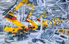 Mild Steel Industrial Robot, for Pick, Fully Automatic