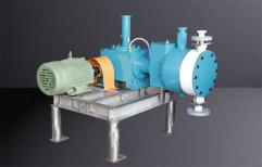 Minimax Diaphragm pump Hydraulic Actuated Diaphragm PTFE Head Pumps