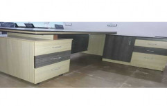 Modular Six Drawers Wooden Table for Office