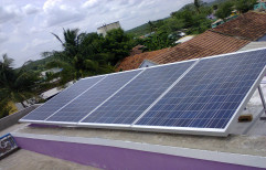 Mono Crystalline Manual Solar PV Panel, For Industrial