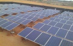 On Grid Solar Power Plant