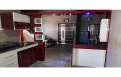 Parallel PVC Designer Modular Kitchen