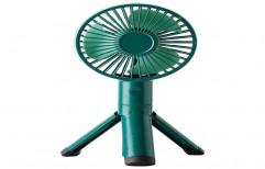 Plastic/Fibre Solar Fan, Green, 20 W