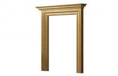 Rectangular Wooden Door Frame, Size: Standard