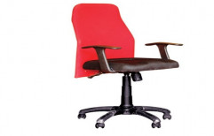 Red And Black Priya Chair Office Executive Chair